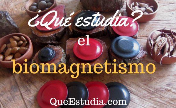 que estudia el biomagnetismo