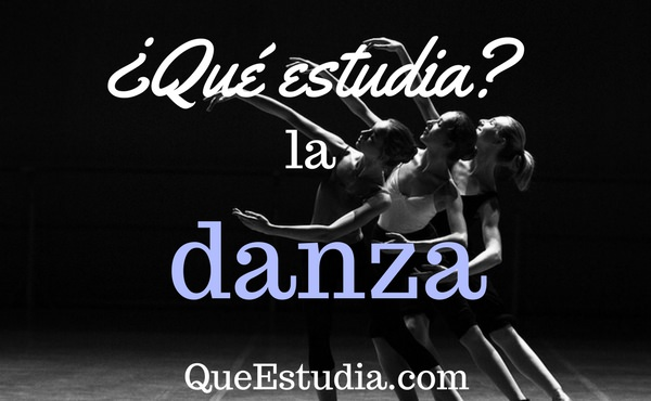 que estudia la danza