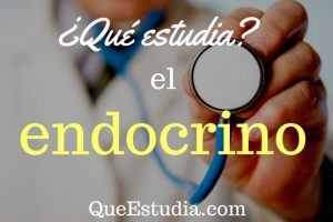 que estudia el endocrino
